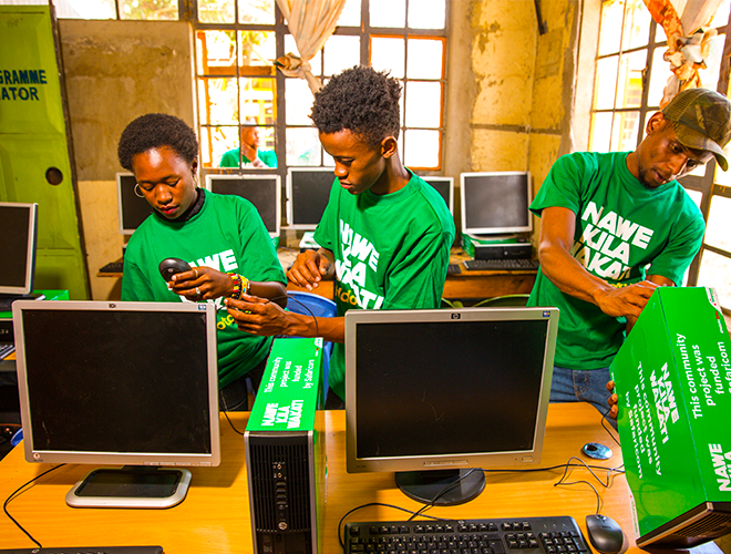 Connecting the Youth in Huruma to the Digital Future
