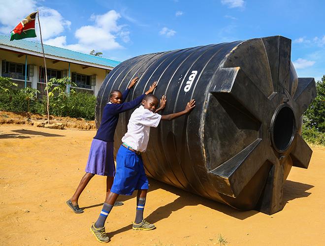 Watering New Hope Amidst Dry Spells in Katatha Maweu Primary School, Machakos