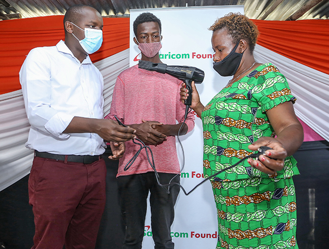 Giving Nairobi Youth opportunities to thrive