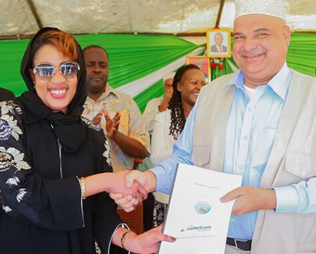 Launch of Maternal newborn and child health programme in Lamu County