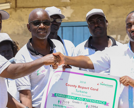 Launch of Accelerated Learning Programme in Turkana County